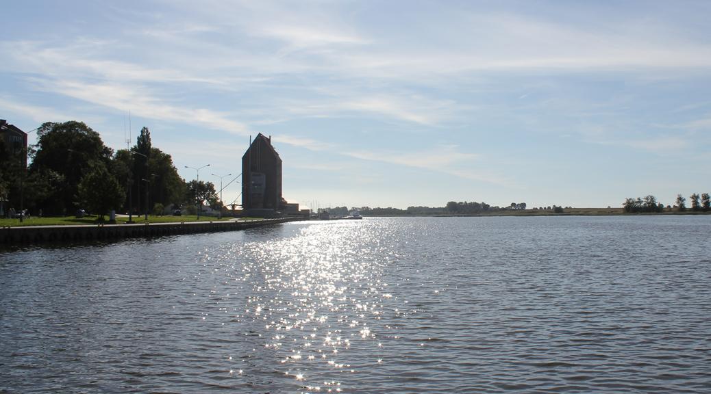 Die Umgebung von Pobierowo